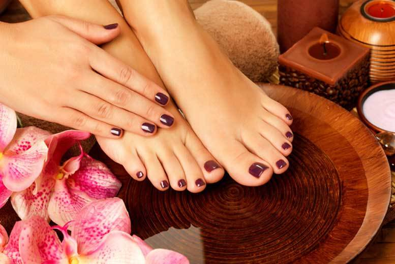 DDDeals - £9 instead of £25 for a shellac gel manicure, £12 for a gel pedicure or £19 for both from For Him & Her Beauty Clinic, Croydon - save up to 64%