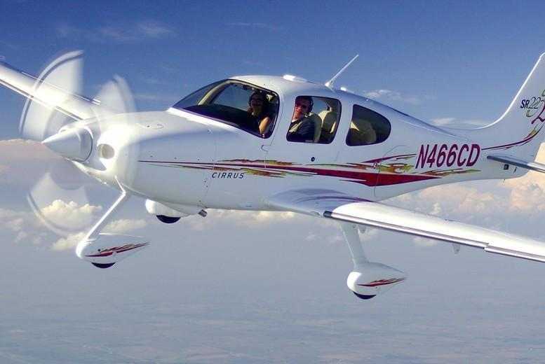 £89 instead of £199 for a 1-hour flying lesson with Experify at a choice of 4 locations - save 55%