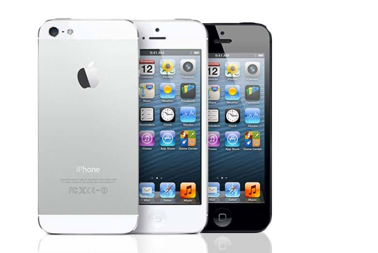 The Best Deal Guide - £119 (from Renew Electronics) for an iPhone 5 16GB or £149 for a 32GB model - select from black or white designs!