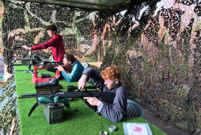 DDDeals - £89 instead of £185 for an ultimate shooting experience day at 3xtreme, Lewes - save 52%