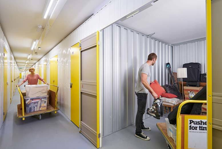 £5 for a £50 voucher from Big Yellow Self Storage Company to spend at any one of their 89 nationwide storage sites - get storing and save 90%
