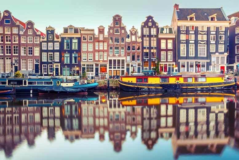 2-3nt Amsterdam, Breakfast & Flights