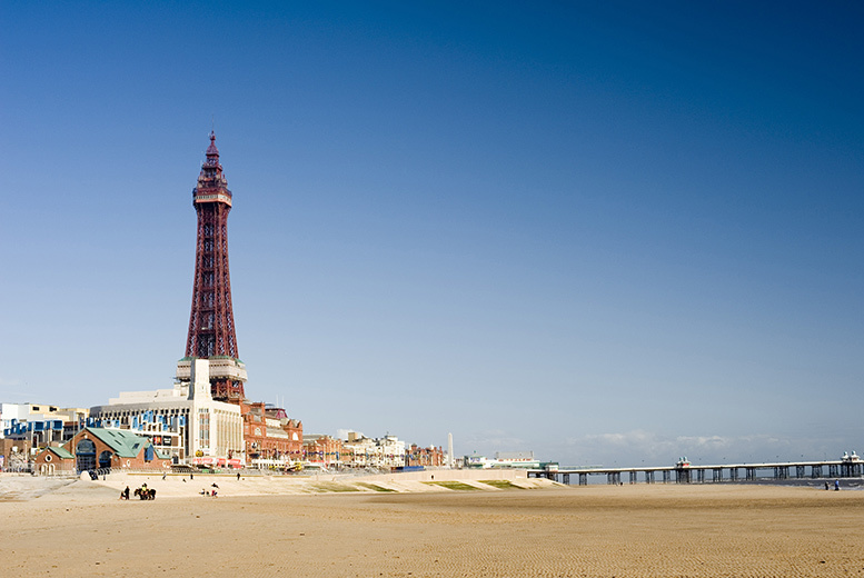 £29 for a 1nt Blackpool break for 2 including wine and breakfast, £69 for 2nts including a 2-course meal or £89 for 3nts at Alfies Hotel - save up to 55%