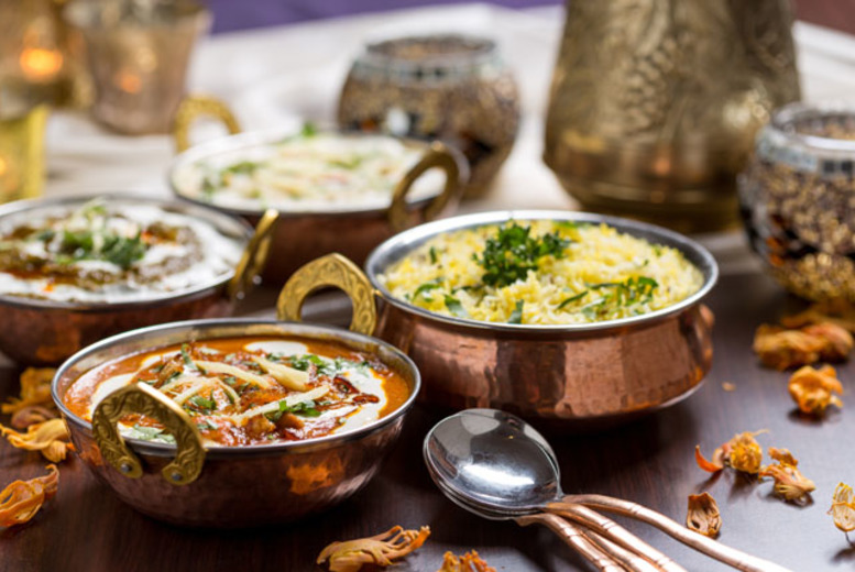 £19 instead of £39.50 for a 3-course Indian meal for 2 with a glass of wine each at The Waldorf Curry House - save 52%