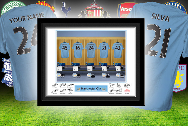 £12 instead of £29.99 (from PFG) for a custom dressing room photo of your football team inc. your name, £22 for 2 or £32 for 3 - save up to 60%