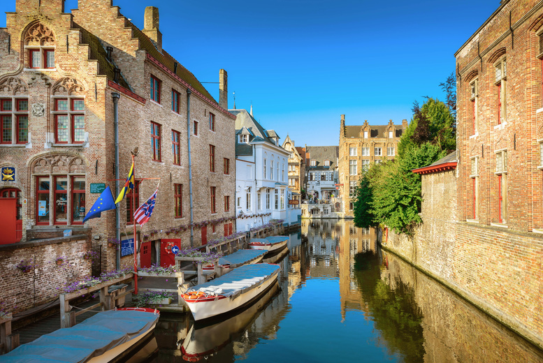 £39 for a child's ticket for a luxury coach day trip to Bruges, £44 for an adult ticket from Anderson Tours - discover this charming city and save up to 26%