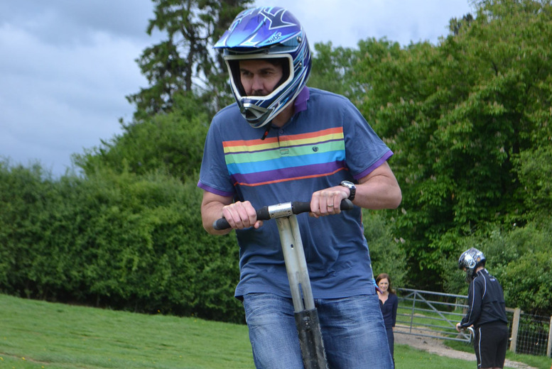 £17 for an off-road Segway experience for one person, £29 for two or £56 for four people at Segway Unleashed, Surrey - save up to 65%