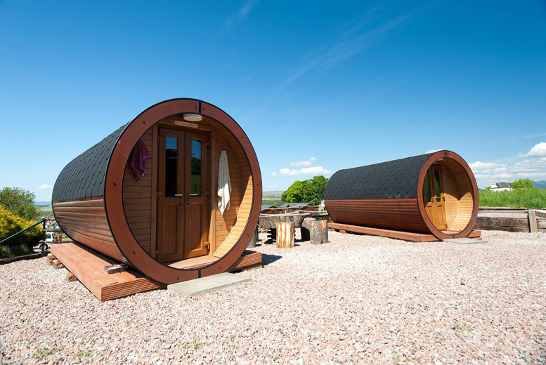 £19 for a 1-night glamping break for 2 people, £39 for 2 nights, or £29 for a 1-night break for 4 people, £49 for 2 nights at Roseland Holiday Park - save up to 37%