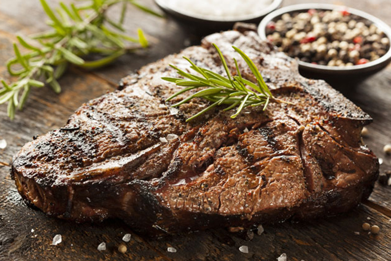 £17 instead of £35.70 for a sirloin steak dinner with sides and a bottle of wine for 2 people at La Nonna, Jesmond - save 52%