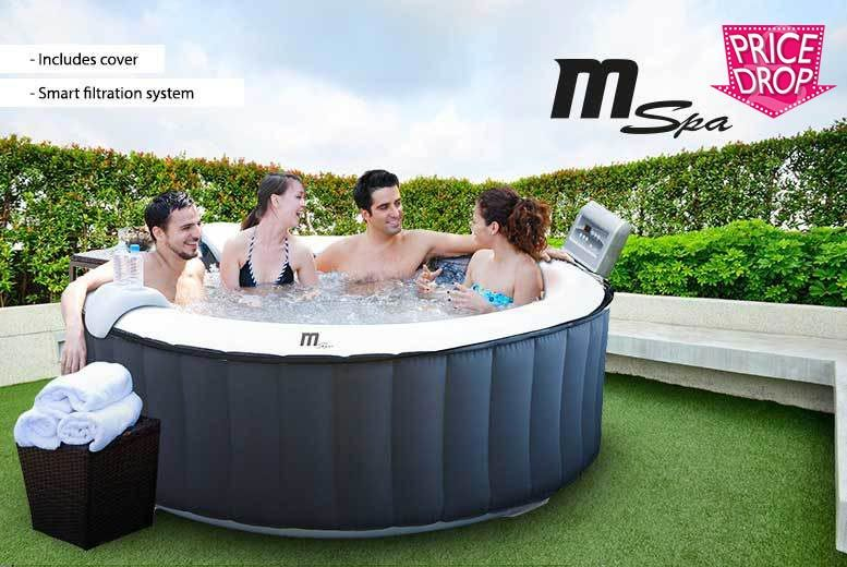 £329 instead of £980 (from Garden & Camping) for an MSpa inflatable hot tub  save 66