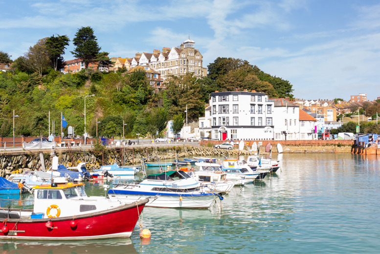 £59 (at Grand Burstin Hotel) for a 1nt stay for 2 inc. breakfast, dinner and spa access or return ferry crossing to Calais, or from £99 for 2nts - save up to 43%