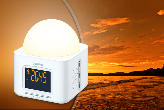 £35 instead of £69.99 (from AMS Global) for a Beurer Dawn Simulator Wake Up Light alarm clock - rise and shine & save 50%