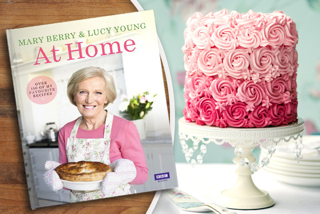 £10.99 instead of £20 (from Random House) for the 'Mary Berry at Home' cookbook – save a delicious 45%