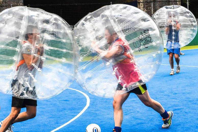 £149 instead of up to £300 for a 60-minute zorb football experience for up to 15 players with Big Silly - save up to 50%