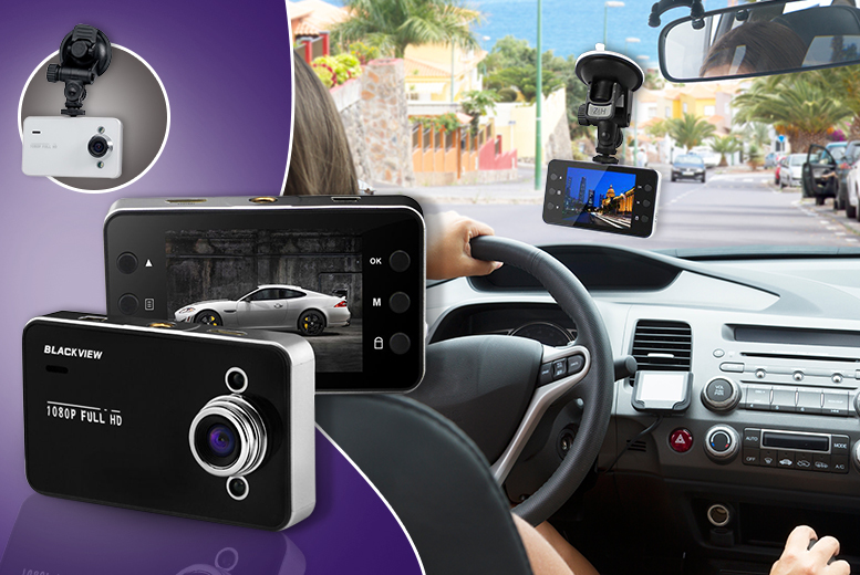 £14.99 instead of £39.99 (from Qualite) for a 1080p HD LCD in-car night vision CCTV camera - choose black or white and save 63%