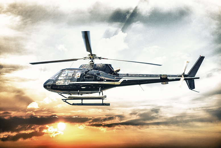 £49 instead of £99 for a 15 to 20-mile helicopter flight with Experify - choose from 2 locations and save 51%
