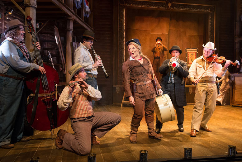 £20 instead of £39 for a Band A ticket to see Calamity Jane at Liverpool Empire Theatre on 5th, 6th or 7th May 2015 with ATG Tickets - save 49%