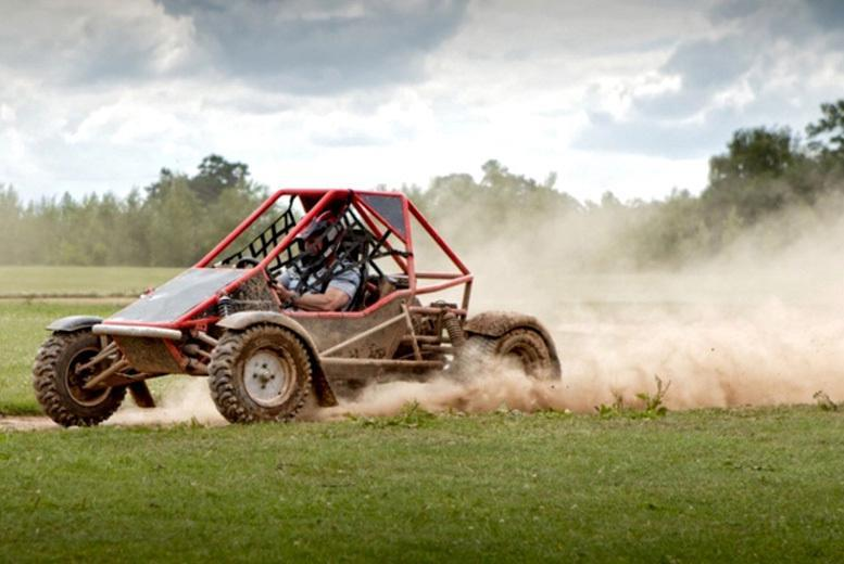 £29 for rage karting and laser clay shooting for one person, £58 for two at Heart of England, Fillongley - save up to 71%