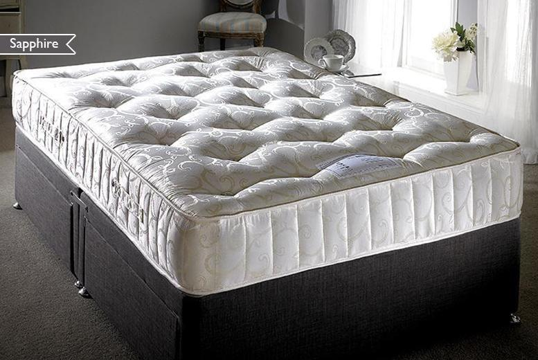 From £199 for a 3000 pocket sprung cashmere sapphire mattress from Wowcher Direct - save up to 75% + DELIVERY INCLUDED!