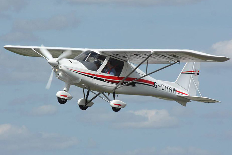 £69 instead of £120 for a 60-minute flying experience from Durham Aerosports - save 42%