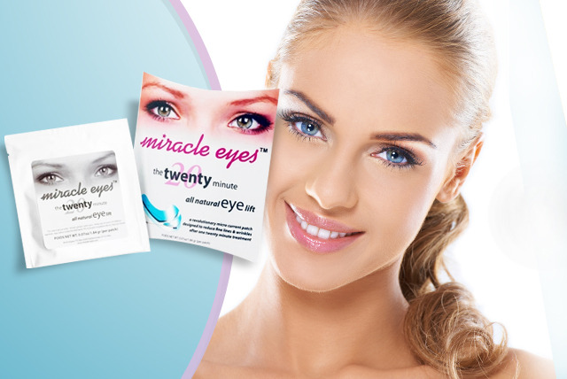 £9.99 for 15 sets of Microcurrent Eye Contour Patches (30 in total) from BioEnergiser