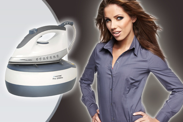 £49.99 instead of £84 (from Lloytron) for a PRO 2000 Steam Station Iron - save a smooth 40%