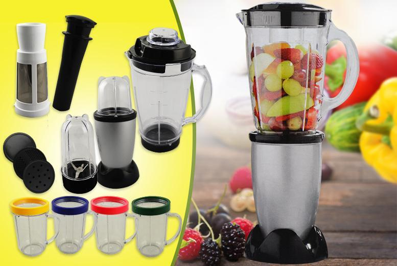 £17.99 instead of £59 for a 17-piece multi-purpose blender set from Wowcher Direct - save 70%