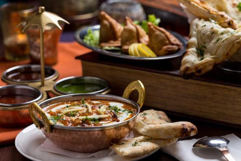 £14 instead of up to £37.80 for a 2-course Indian meal for 2, £26 for 4 at East Bar Lounge & Grill, Horsforth - save up to 63%