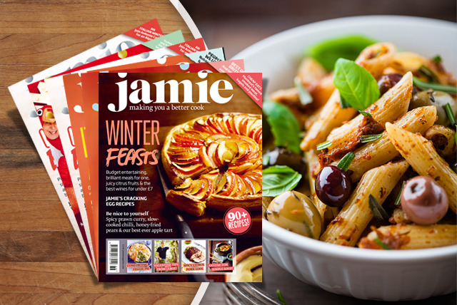 £9.99 instead of £19.95 (from Jamie Oliver Magazine) for a 6-month subscription - learn to cook & save 50%