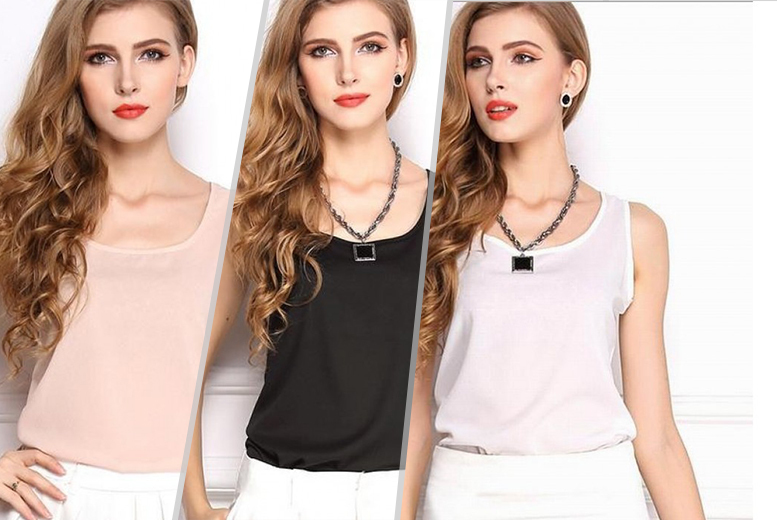 £6.99 instead of £40 (from Alvi's Fashion) for two summer chiffon blouses in a choice of six colours - save 83%