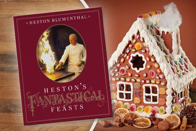 £9.99 instead of £22.50 (from Bloomsbury) for Heston's Fantastical Feasts cookbook - save a fantastical 56%