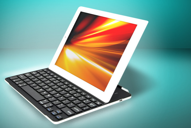 £19.99 instead of £59.99 (from Time2) for an ultrathin iPad aluminium case with integrated Bluetooth keyboard - save 67%