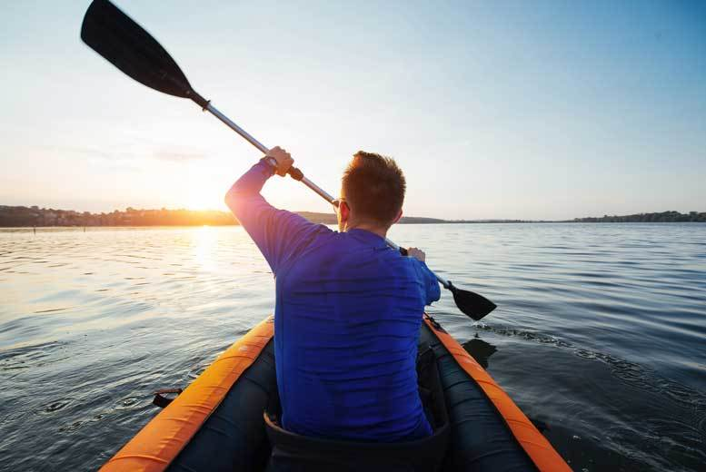 £34 instead of up to £49 for a half day Kayak or Canoe experience in a choice of three locations from Activity Superstore  save up to 31