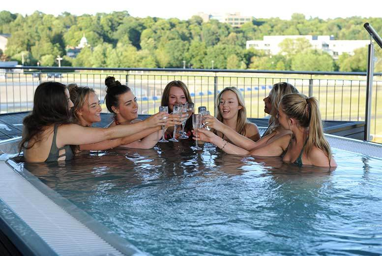 £109 (at Brooklands Hotel & Spa) for an overnight Surrey spa stay with breakfast for two with cream tea, Prosecco and spa access, £159 to include a 25-minute spa treatment - save up to 59%