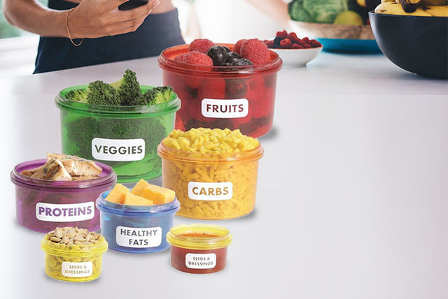 14pc portion control set