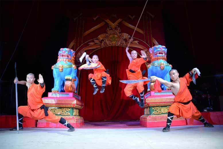 Chinese State Circus Front Circle Tkt - 2 Locations!