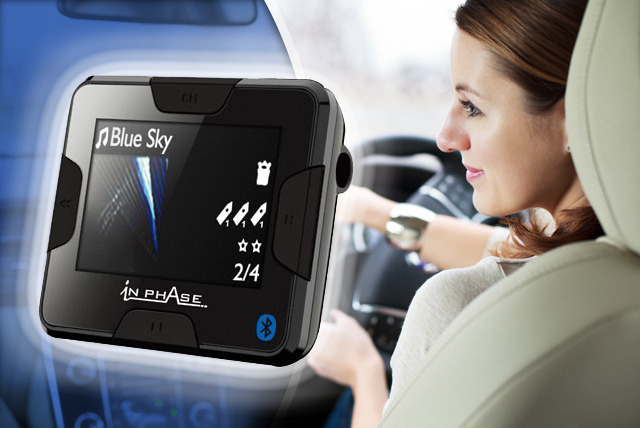 £19 instead of £49.99 (from Car Audio Centre) for a Bluetooth handsfree car kit featuring an FM transmitter - save 62%