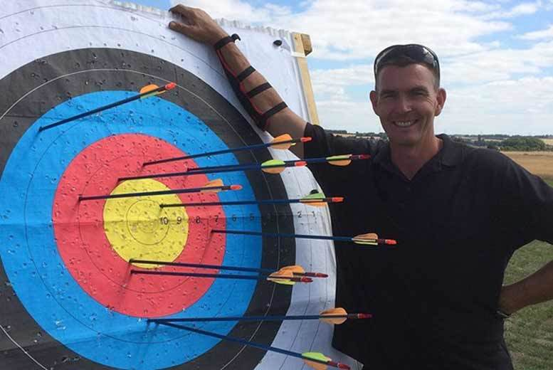 £30 for a 90-minute archery and sky bow experience for two at FireFly Activites, Kent from Buyagift!