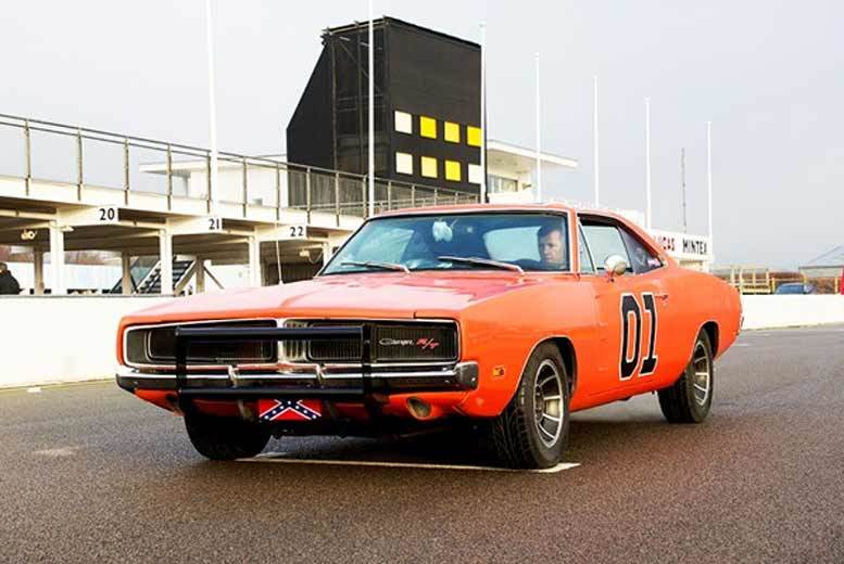 £31 for a movie car three-lap driving experience for one person at one of eight UK locations from Buyagift