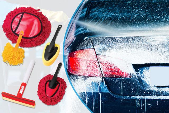 5pc pro car wash kit