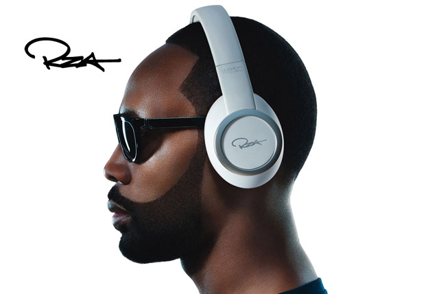 £99 instead of £250 for a pair of black or white WeSC RZA Premium headphones - save 60% + delivery included!