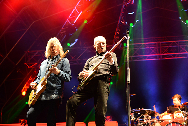 £29.99 instead of £39.95 for a ticket to see Status Quo at Burghley House on the 6th June 2015 from Live Promotions Events - save 25%
