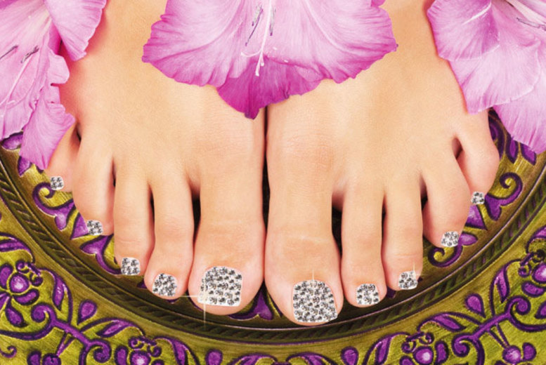 £29 instead of £120 for a crystal pedicure at Face Factory, Southwark - sparkle & save 76%