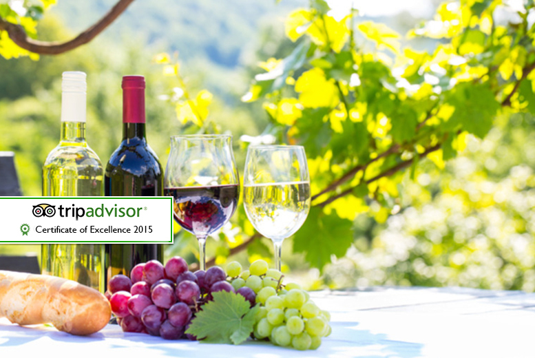 £29 instead of £79 for a vineyard tour, wine tasting and buffet lunch for two people at Carr Taylor Vineyard, Hastings - save 63%