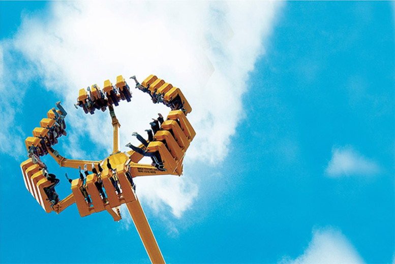 £18 for 1-day entry to Lightwater Valley Theme Park!