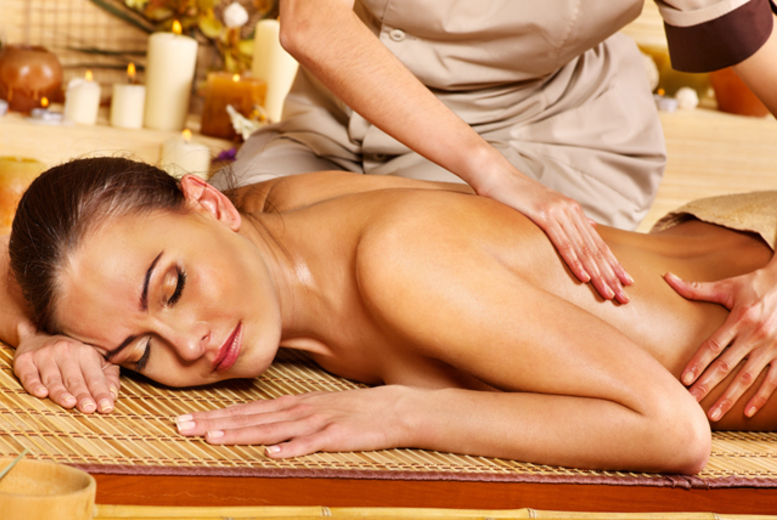 From £12 for a 30 minute or one-hour (£19) full body massage from Coombes