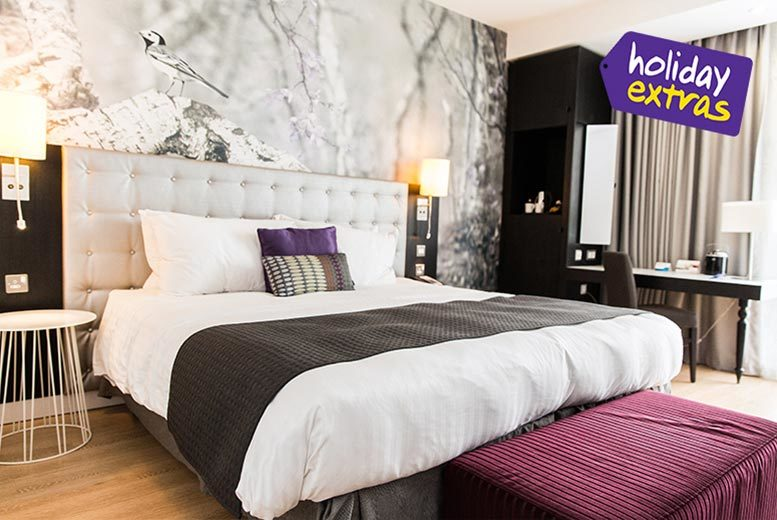 £1 for up to 25% off hotels at the biggest airports in the UK and Ireland with Holiday Extras!