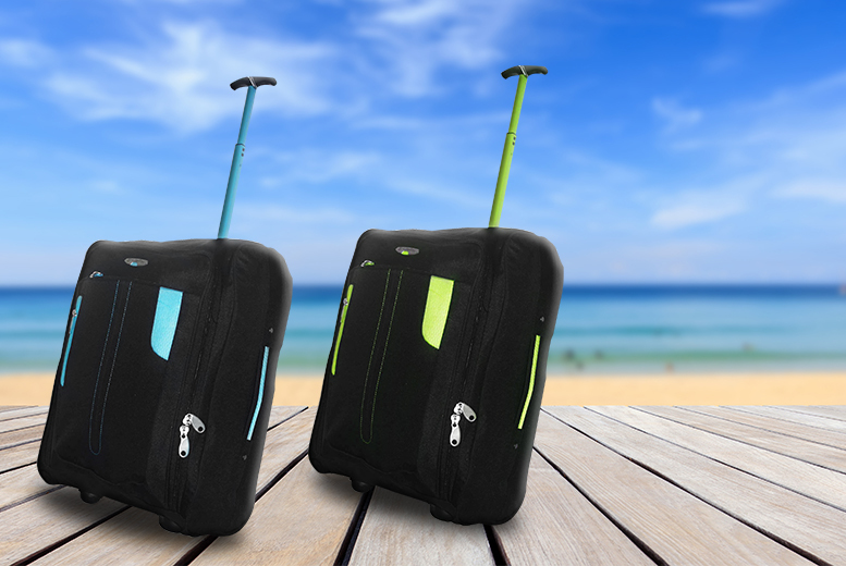 £11 instead of £43.99 (from Trendy Look) for cabin-approved wheelie hand luggage - choose from 2 colours & save 75%