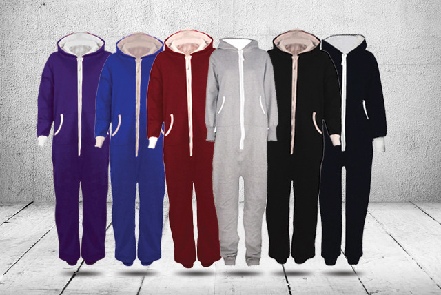 £19.99 instead of £79.99 (from Karma Clothing) for a hooded onesie in a choice of 7 colours - save 75%