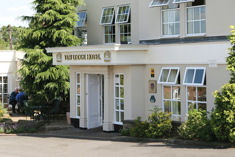 £99 (from Best Western Premier Yew Lodge Hotel) for a 1nt stay including an afternoon tea, Prosecco, spa access, breakfast & late checkout, £169 for 2nts - save up to 32%